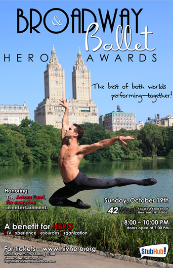 broadway and ballet hero awards