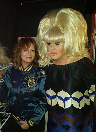 lady bunny susan sarandon new york